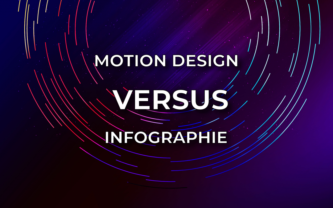 Motion design VS infographie