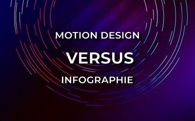 Motion design VS infographie